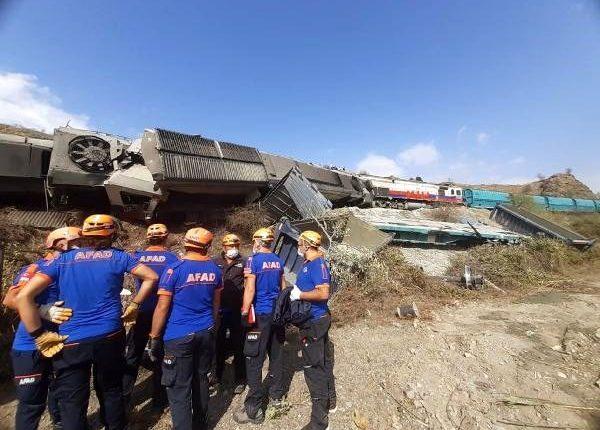 تركيا – حادث قطار