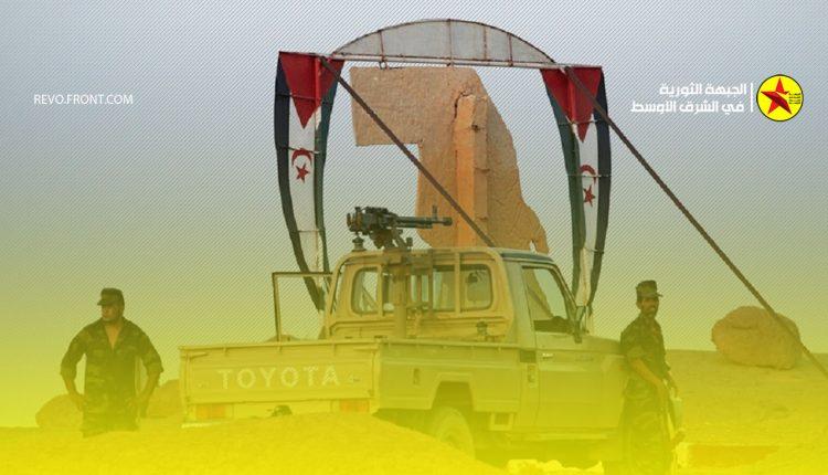 جبهة البوليساريو – ابراهيم غالي