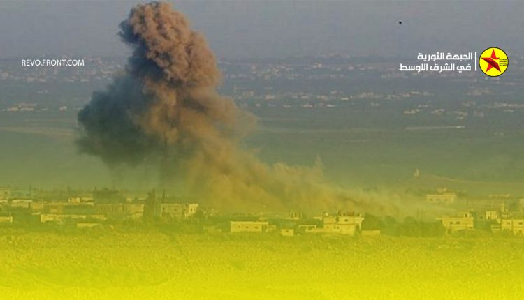 دمشق – قصف