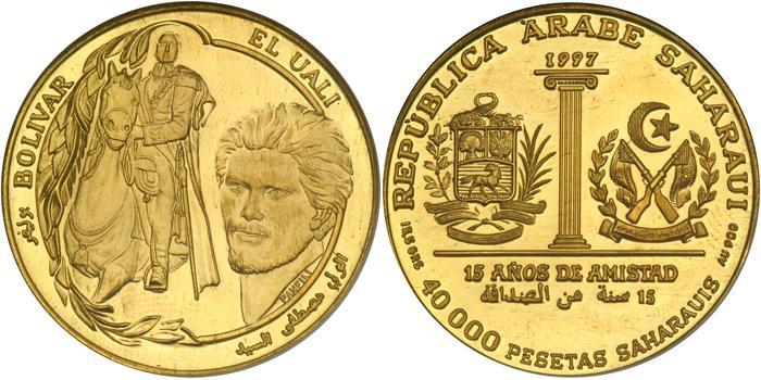 40000pesetassaharauisoro1997