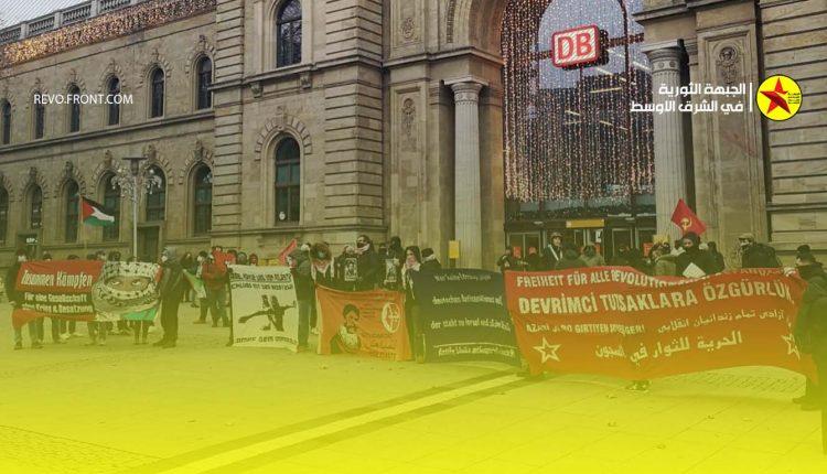 المانيا – تظاهرة