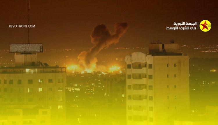 غزة – غارات