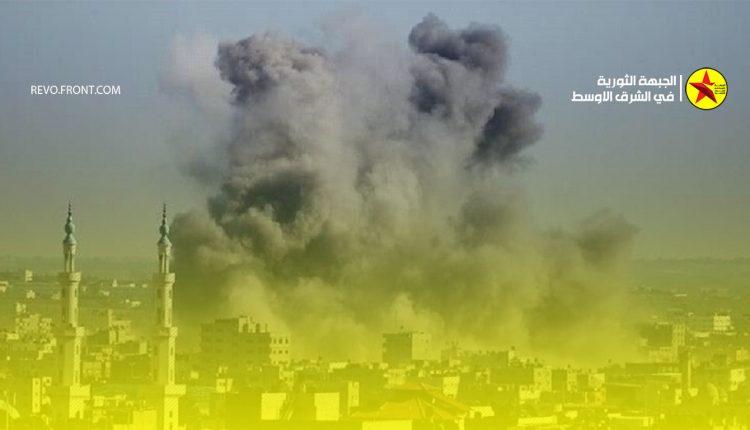 فلسطين – قصف