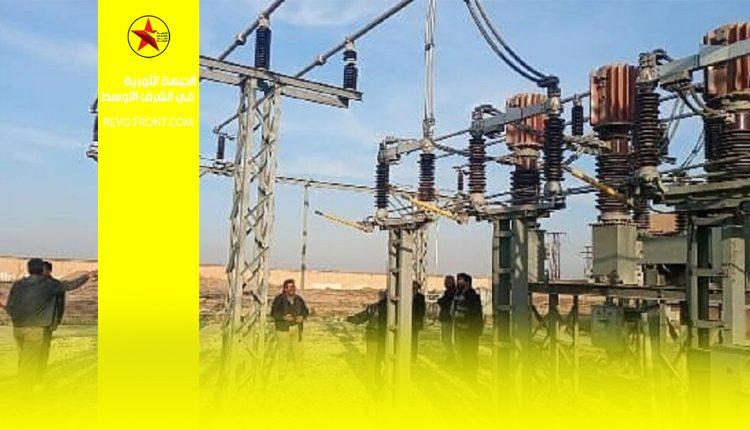 تل تمر – محطة الكهرباء