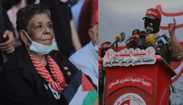 FHKC Ebu Ali Mustafa Tugayları Askeri geçit töreni Gazze