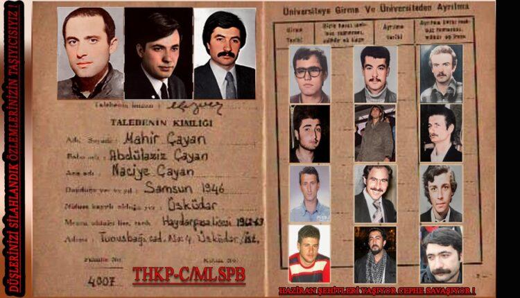 MLSPB (Marksist Leninist Silahlı Propaganda Birliği) HAZİRAN ŞEHİTLERİ